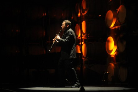 A photo of Narek Arutyunian taken at the Huntington Estate Music Festival, Mudgee. Photo by Amber Hooper.