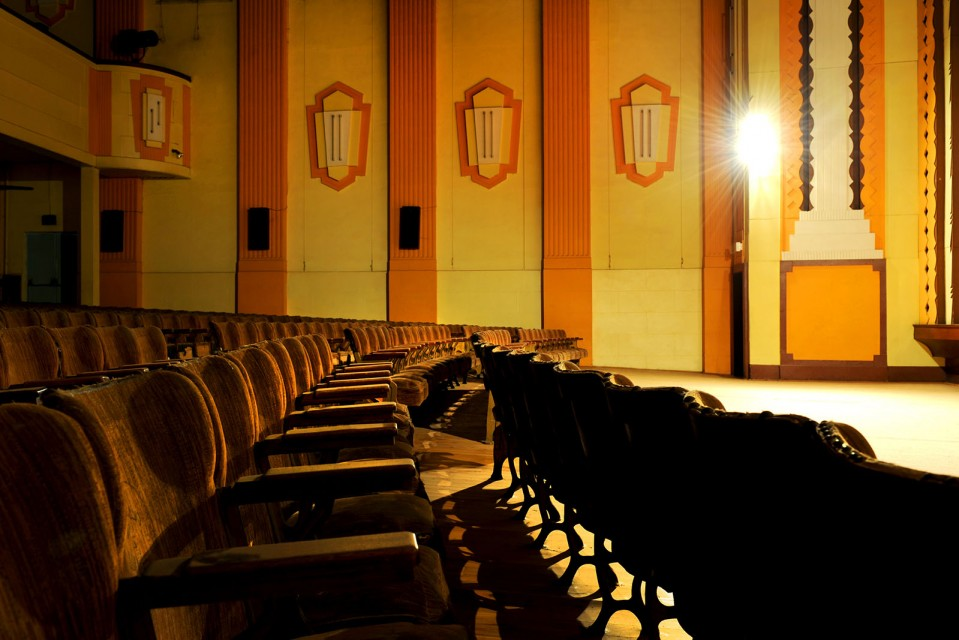 A photo inside the Mudgee Regent Theatre. Photo by Amber Hooper.