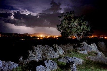 Approaching Storm, view from Old Saleyards hill, Mudgee. Photo by Amber Hooper.