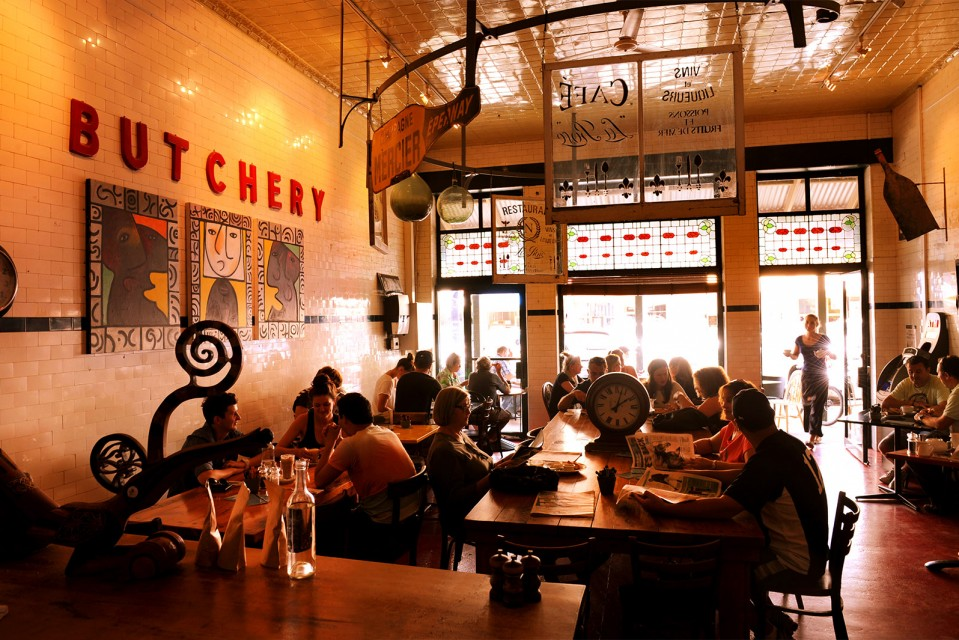 A photo of the Butcher Shop Cafe. Photo by Amber Hooper.